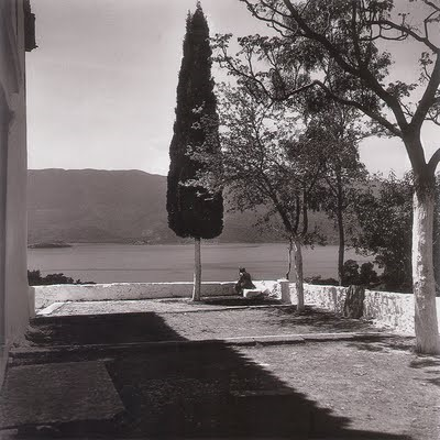Seferis at Monastery