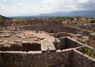 The ancient graves of Mycenae