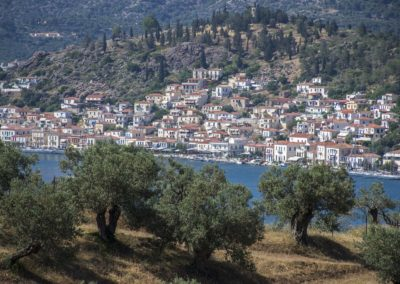 Poros view from Live-Bio