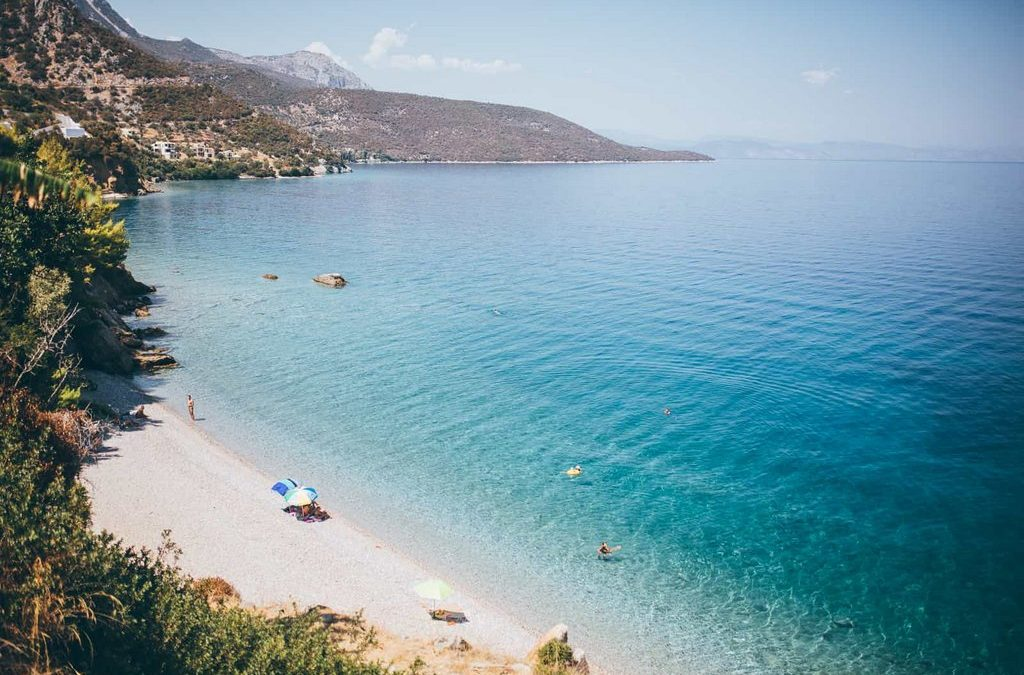 10 best beaches on Poros and vicinity