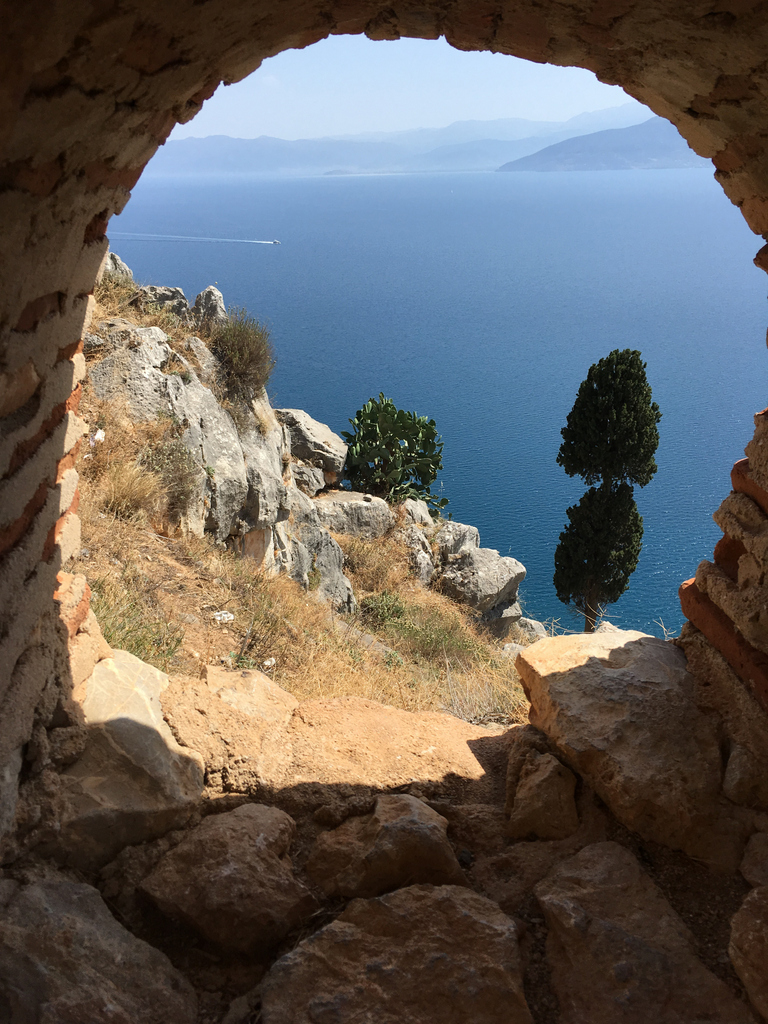 On a day trip to Nafplio
