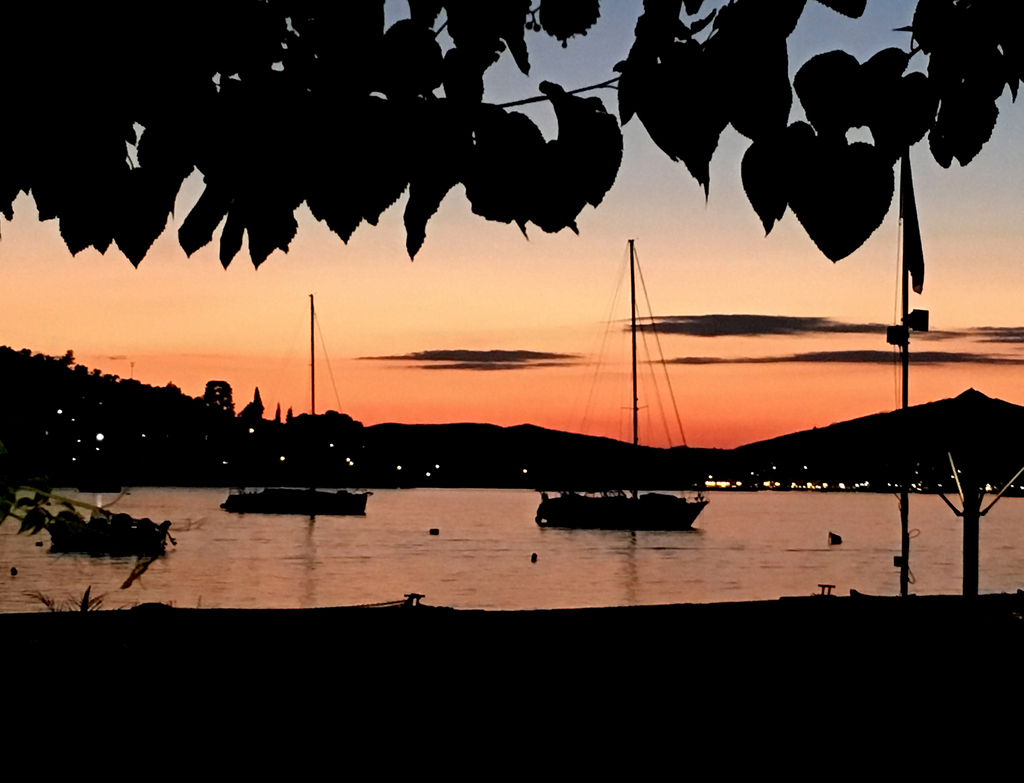 Beautiful sunsets of Poros